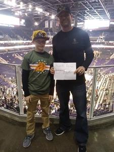 Richard attended Phoenix Suns vs. Philadelphia 76ers - NBA on Jan 2nd 2019 via VetTix