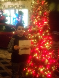 Michael attended Christmas Spectacular Starring the Radio City Rockettes - Musical on Jan 4th 2019 via VetTix